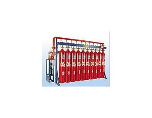 Fixed gas fire-extinguishing systems