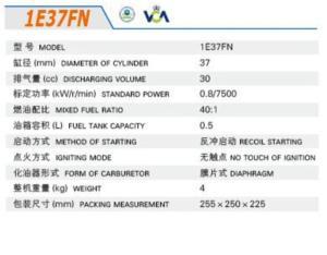 GASOLINE ENGINE 1E37FN