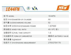 GASOLINE ENGINE 1E44FN