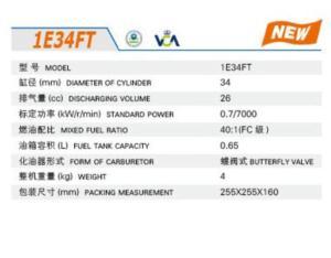 GASOLINE ENGINE 1E34FT