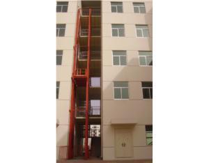 SJD rail hydraulic lift platform