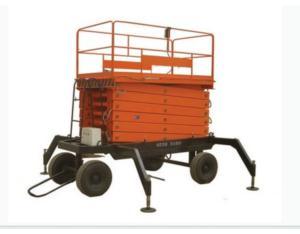 Scissor mobile hydraulic lift platform