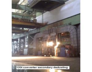 converter secondary dedusting