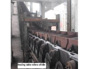 feeding table rollers of kiln