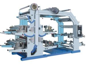 YT Series Four-color Flexography Printing Machine