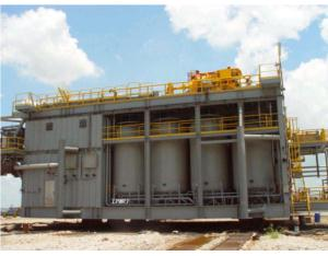 Hydrogenation heat exchanger