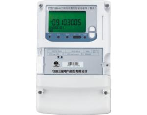 DTZY188-Z type of three phase four line fee charged with intelligent watt-hour meter (carr