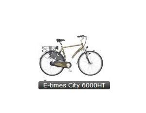 E-times City Bicycle  6000HT