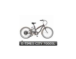 electric bicycle E-TIMES CITY 7000SL