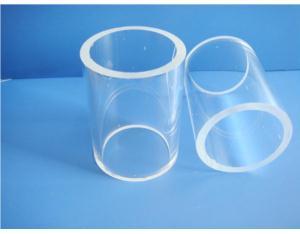 Long Lifespan Transparent quartz tube