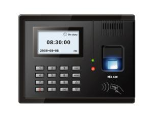 MX730 fingerprint time attendance