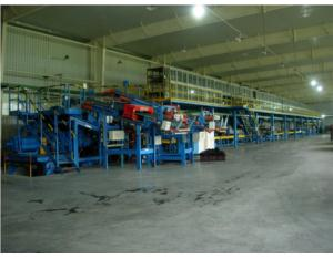 Tyre Tread and Sidewall Duplex Rubber Extrusion Line