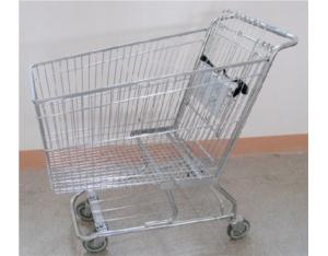 American style shopping cart (180L)