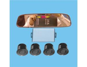 Rearview Mirror LED Digital Display Parking Sensor