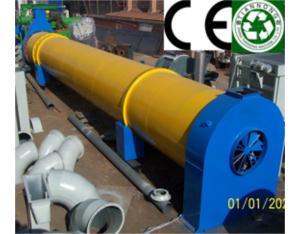 Biomass granulation drying machine