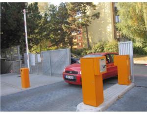 Traffic barrier, automatic barrier gate, road barrier, parking barrier