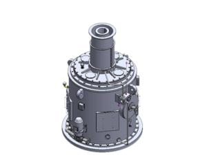 Seawater circulating pump gear box