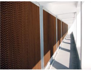 Cooling pad wall