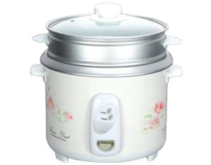 Straight type electric rice cooker