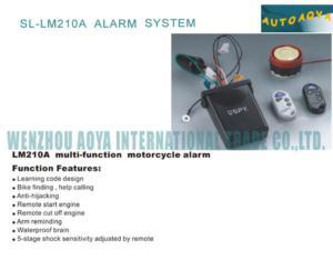 A burglar alarm