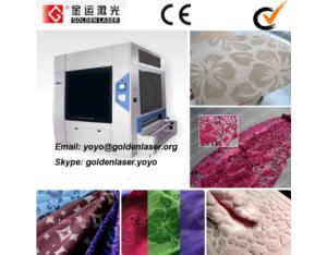 Roll Textile Laser Engraving Machine