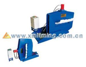 Automatic crumple type bending machine