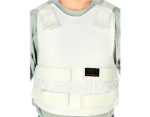 Concealable Bulletproof Vest Level 3-A, Color White