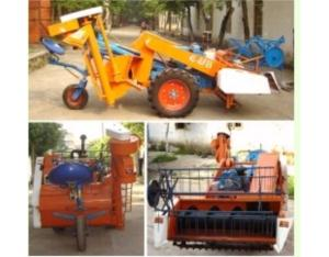 Mini rice and wheat harvester/reaper/swather  4L-0.8B