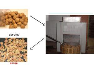 Walnut Hard Shell Removing Machine