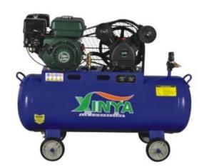 2065A-100Q  Gasoline belt-driven air compressor