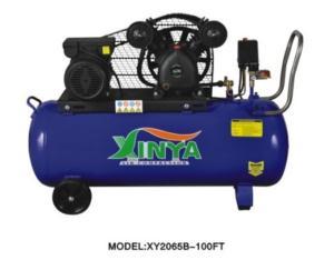 2065B-100FT belt-driven air compressor