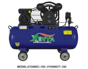 2065C-100 belt-driven air compressor