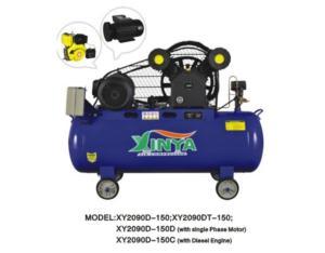 2090D-150 belt-driven air compressor
