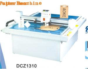 DCZ1310 carton box die cut plotter sample flat bed cutting machine