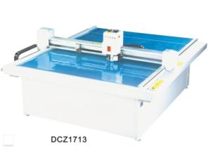 DCZ1713 carton box die cut plotter sample flat bed cutting machine