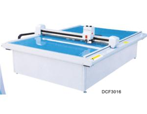 DCF 3016 garment computerized die cut flat bed cutting machine room