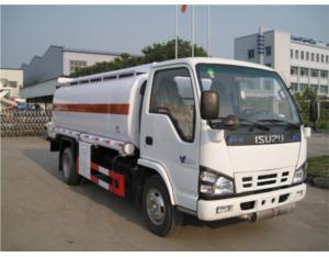 ISUZU fuel tank truck