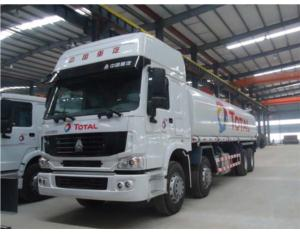 SINO TRUCK HOWO fuel tank truck