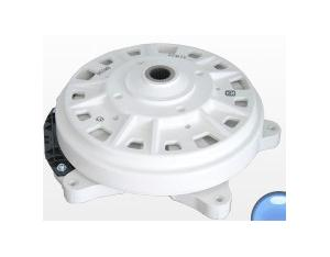 Drum washing machine with brushless DC motor