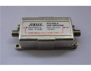 Satellite signal amplifier