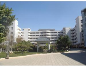 Yunnan Normal University High School Affiliated to the new campus teaching building