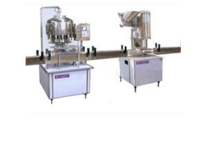 Vial pressure filling production line