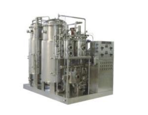 Carbonated beverage bottling lines