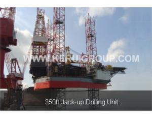 350ft jack-up drilling unit