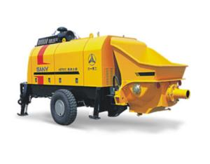 Diesel engine concrete drag pump: HBT80C-1813 D Ⅲ