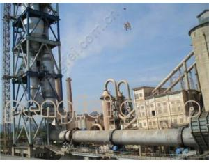 3000t/d Rotary Kiln Cement Production Line