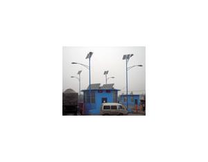 Basking solar street light