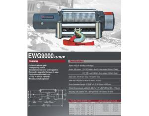 EWG9000U/S/F Off-road vehicles with electric winch