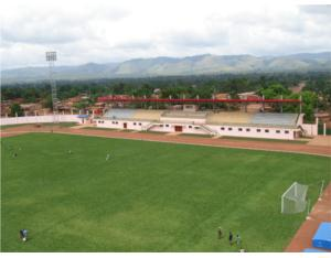 The democratic republic of Congo in the more set stadium project