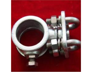 Anchor positioning clamp